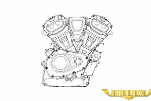 Harley-Davidson'dan Yeni Motor Patenti