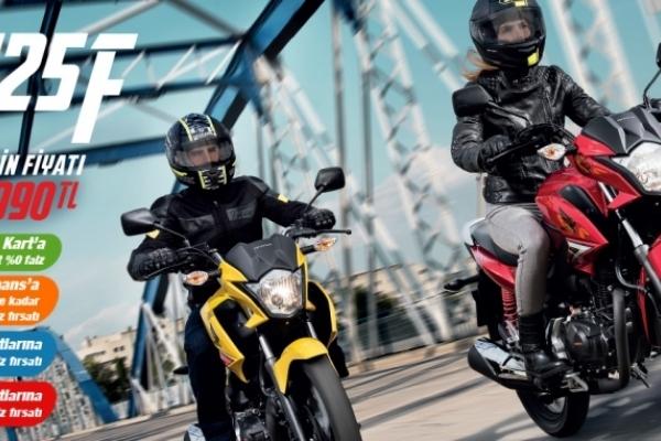 Honda CB125F Temmuz Kampanyası