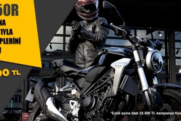 Honda CB250R Eylül Kampanyası