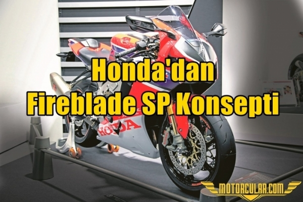 Honda'dan Fireblade SP Konsepti