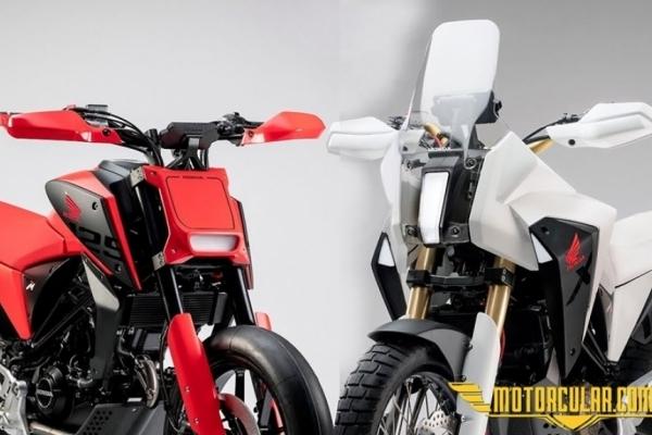 Honda Türkiye CB125X ve CB125M Konseptlerini Getiriyor