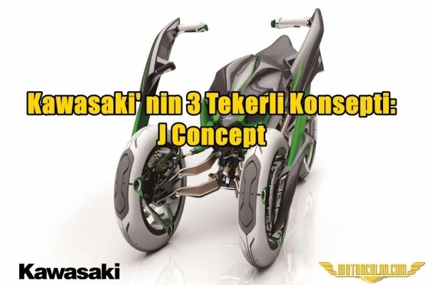 Kawasaki' nin 3 Tekerli Konsepti: J Concept