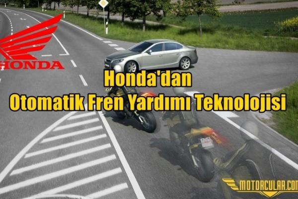 Honda'dan Otomatik Fren Yardımı