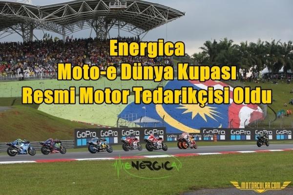 Energica, Moto-e Dünya Kupası Resmi Motor Tedarikçisi Oldu
