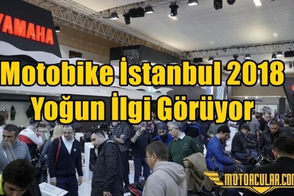 Motobike İstanbul 2018 Yoğun İlgi Görüyor