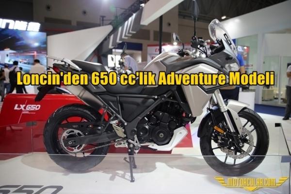 Loncin'den 650 cc'lik Adventure Modeli