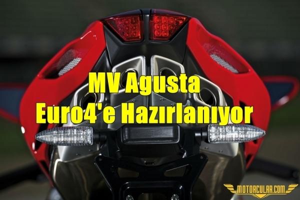 MV Agusta Euro4'e Hazırlanıyor