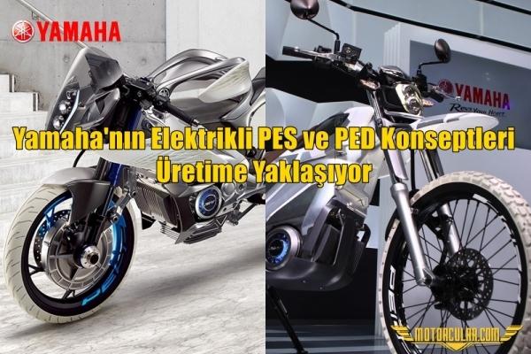 Yamaha'nın Elektrikli PES ve PED Konseptleri Üretime Yaklaşıyor