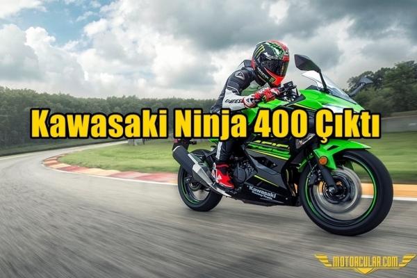 Kawasaki Ninja 400 Çıktı