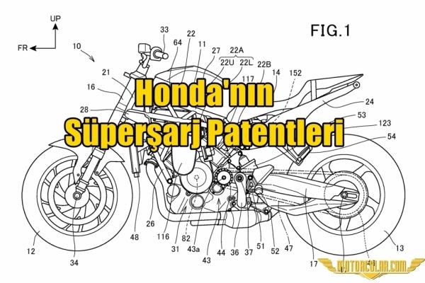 Honda'nın Süperşarj Patentleri
