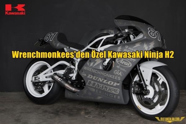 Wrenchmonkees' den Özel Kawasaki Ninja H2