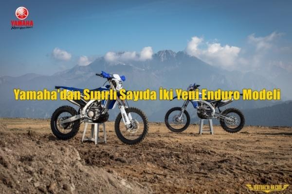 Yamaha'dan Sınırlı Sayıda İki Yeni Enduro Modeli