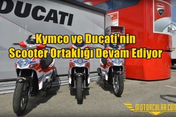 Kymco ve Ducati'nin Scooter Ortaklığı Devam Ediyor