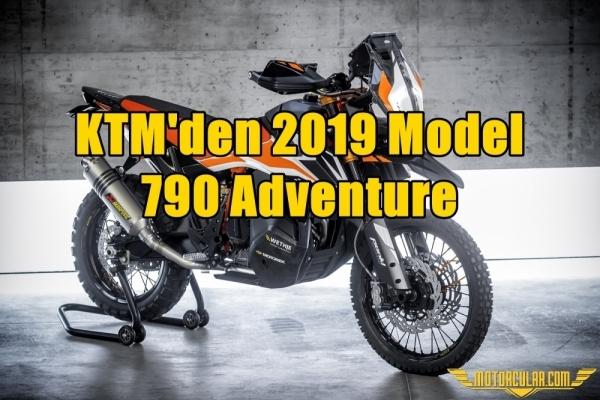 KTM'den 2019 Model 790 Adventure