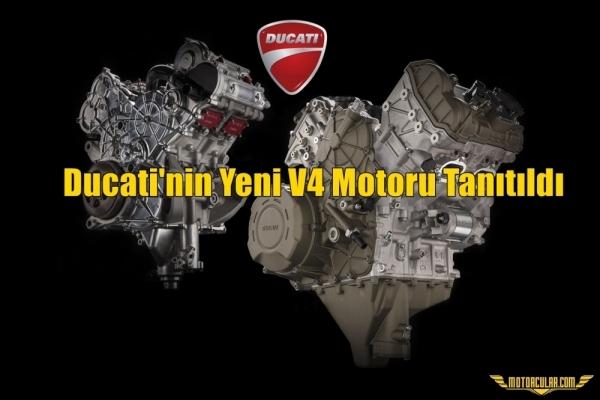 Ducati'nin Yeni V4 Motoru Tanıtıldı