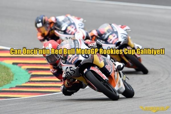 Can Öncü'nün Red Bull MotoGP Rookies Cup Galibiyeti