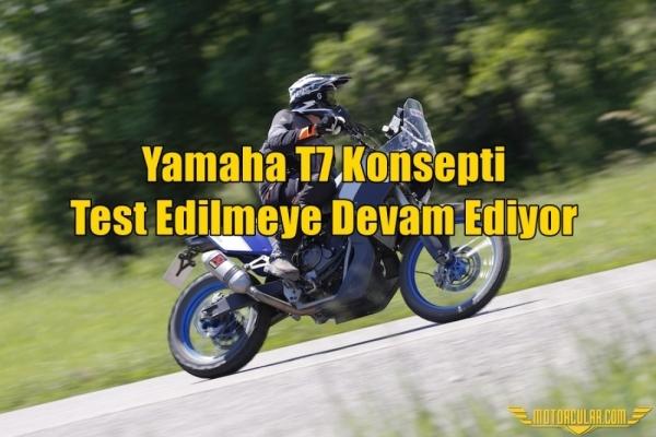 Yamaha T7 Konsepti Test Edilmeye Devam Ediyor