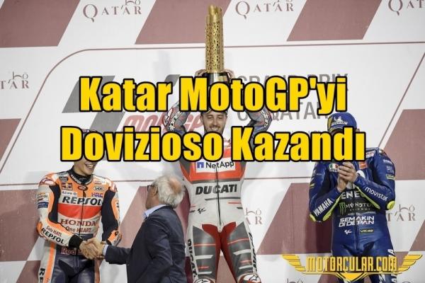 Katar MotoGP'yi Dovizioso Kazandı