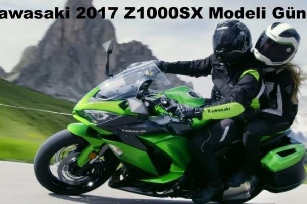 Kawasaki 2017 Z1000SX Modeli Güncellendi