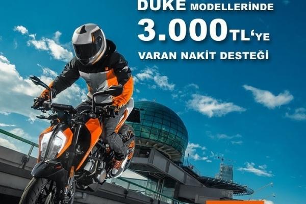 KTM Duke Kampanyası Ekim 2018
