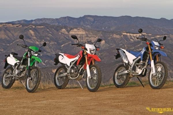 KLX 250, CRF 250, WR 250