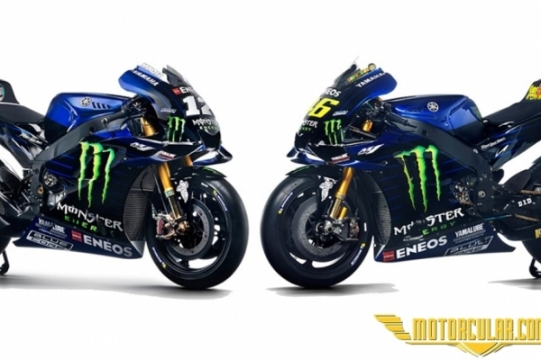 Monster Energy Yamaha'ya Sponsor Oldu