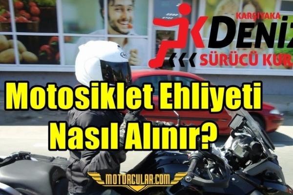 Motosiklet Ehliyeti Nasıl Alınır?