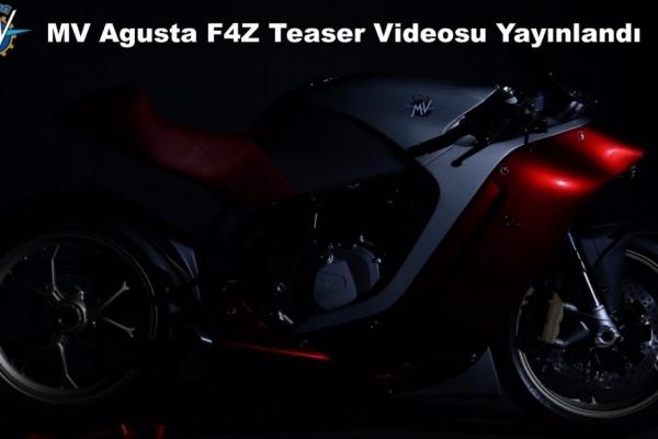 MV Agusta F4Z Teaser Videosu Yayınlandı