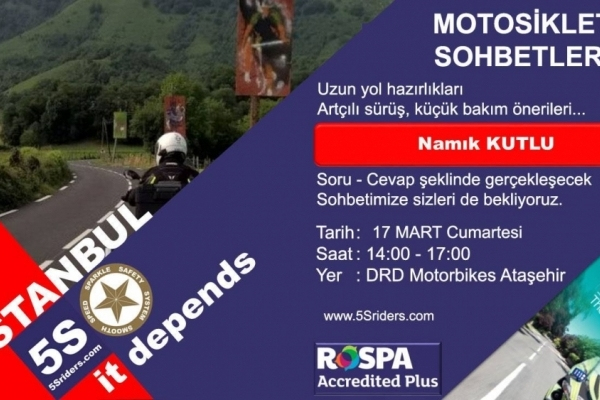 Motosiklet Sohbetleri - DRD Motorbikes