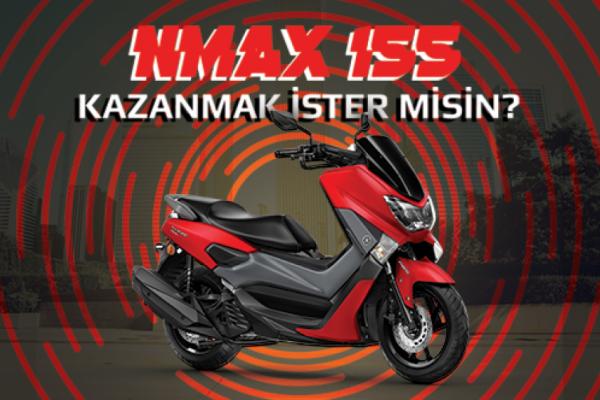 Yamaha NMAX 155 Kazanmak İster Misin? 'NMAX BENİM OLACAK' Yarışması