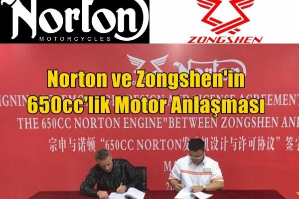 Norton ve Zongshen'in 650cc'lik Motor Anlaşması