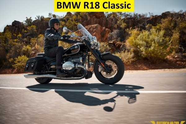 Yeni BMW R18 Classic First Edition