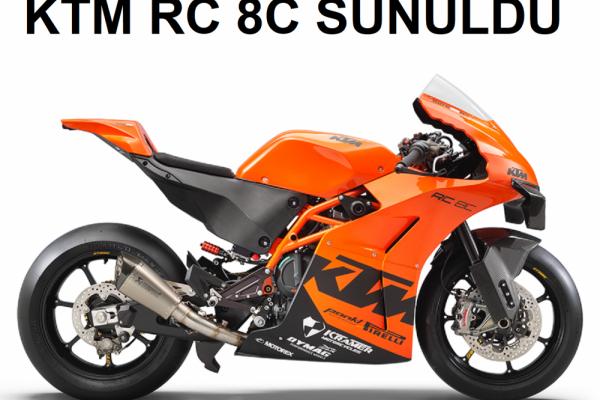 RC8 Geri Dönüyor! KTM RC 8C Sunuldu
