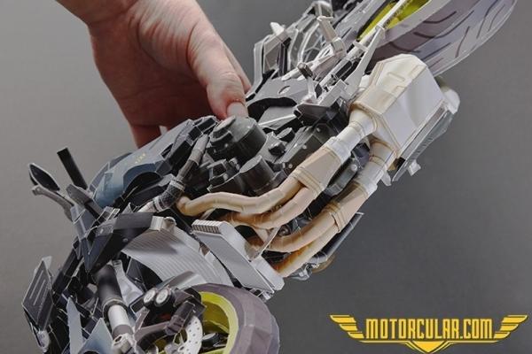 Kağıttan Yamaha Motosikletler