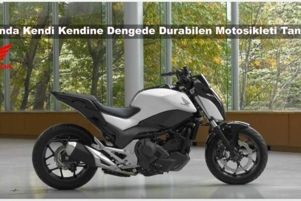 Honda Kendi Kendine Dengede Durabilen Motosikleti Tanıttı