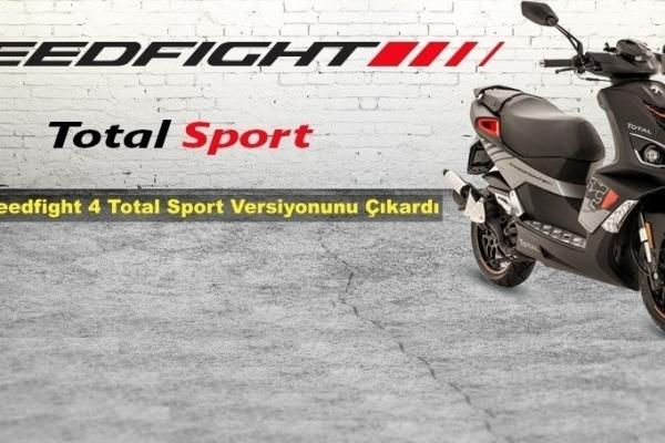 Peugeot, Speedfight 4 'Total Sport' Versiyonunu Çıkardı