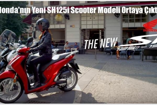 Honda'nın Yeni SH125i Scooter Modeli Ortaya Çıktı