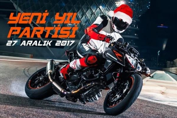 KTM Spormoto Yeni Yıl Partisi