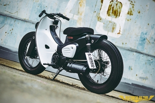 K-Speed Honda Super Cub www.motorcular.com