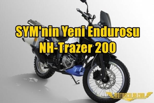 SYM'nin Yeni Endurosu: NH-Trazer 200