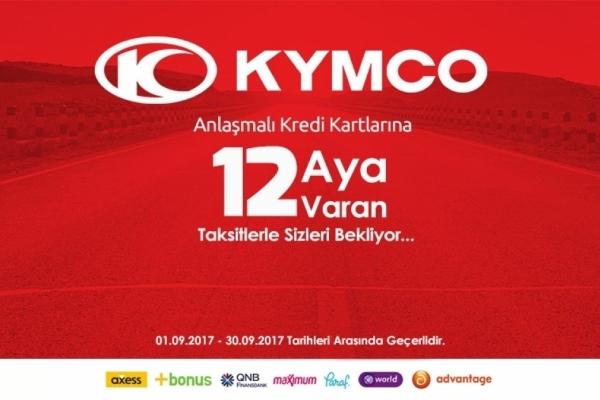 Kymco Son Bahar Fırsatları Başlıyor