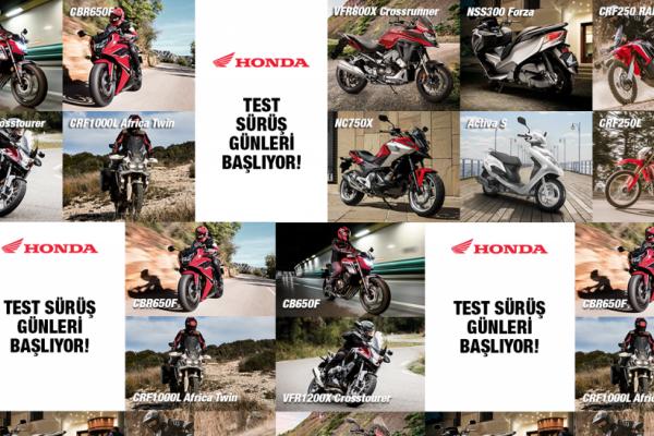 Honda Motosiklet Modelleri Türkiye Turu'na Çıkıyor