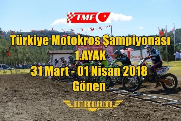 TMF Türkiye Motokros Şampiyonası 2018 1.Ayak
