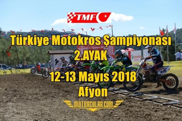 TMF Türkiye Motokros Şampiyonası 2018 2.Ayak