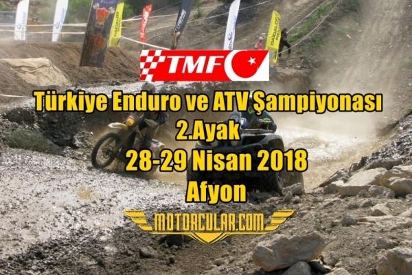 Türkiye Enduro ve ATV Şampiyonası 2018 2.Ayak