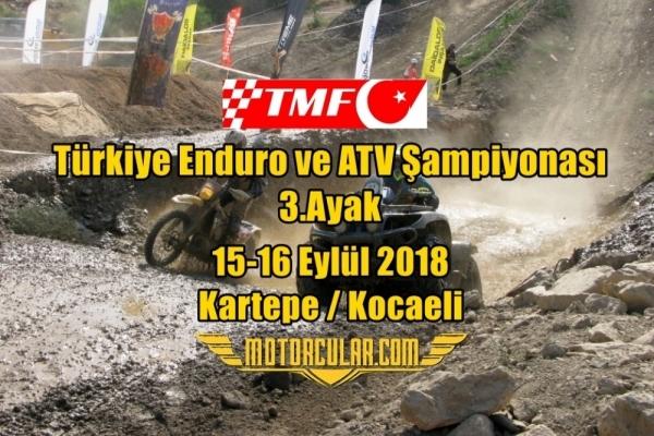 Türkiye Enduro ve ATV Şampiyonası 2018 3.Ayak