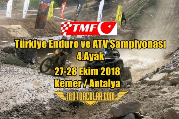 Türkiye Enduro ve ATV Şampiyonası 2018 4.Ayak