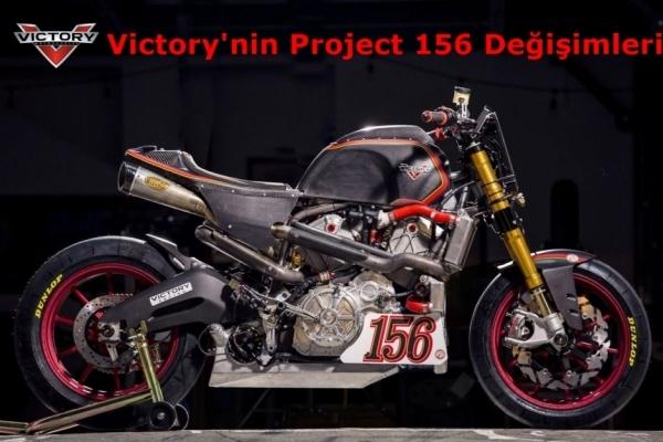 2016 Pikes Peak Yarışı için Victory'nin Project 156 Değişimleri