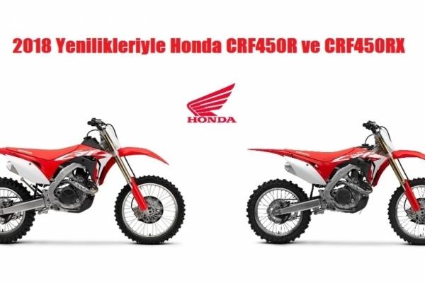 2018 Yenilikleriyle Honda CRF450R