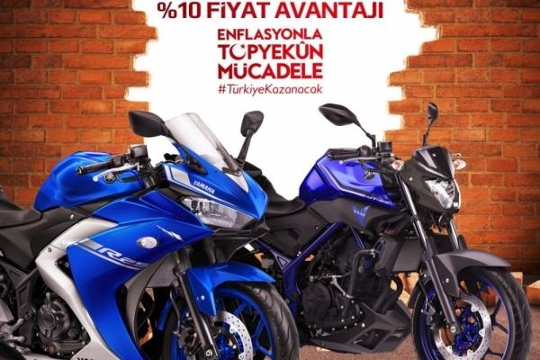 Yamaha'dan Enflasyonla Mücadele Kampanyası
